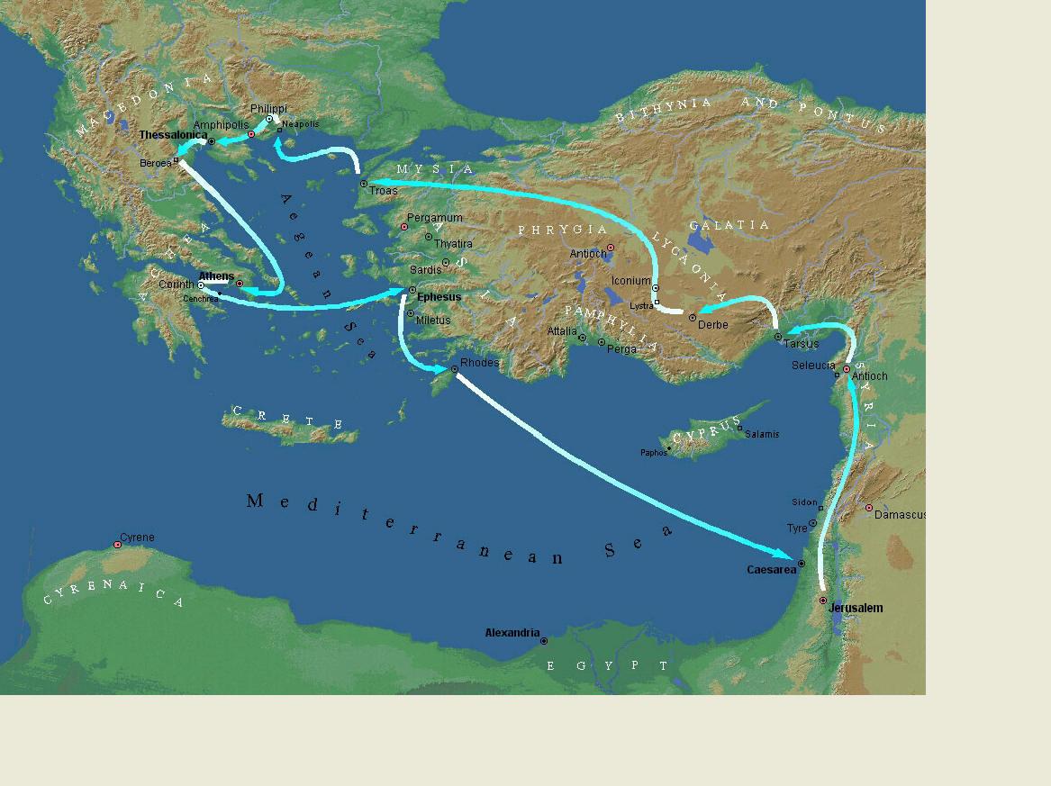 Maps: Bible Maps-Onsite