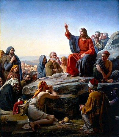 Seemon On The Mount By Carl Heinrich Bloch 1834 1890